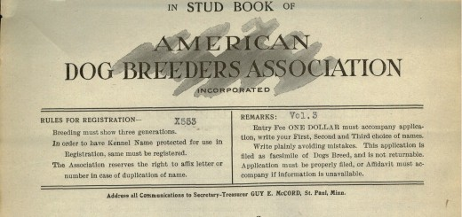 American Dog Breeders Association